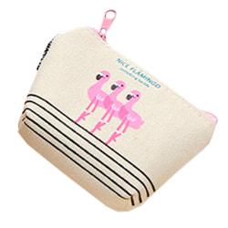 Liten Plånbok Söt Flamingo-myntväska som är lätt att bära