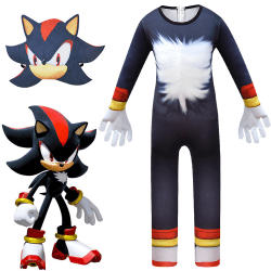Sonic Costume Cosplay Boy Sonic Jumpsuits Sets Party Fancy Dress 140CM