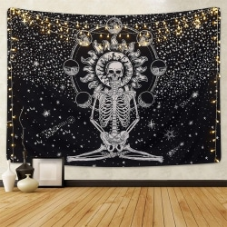 Tapestry Kasta vägghängande heminredning filt överkast 150*130cm