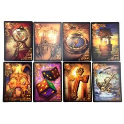 Tarot Cards Deck Lenormand Oracle Golden Body Spirt Reverie Game