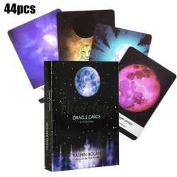Tarot Cards Moonology Oracle Cards: A 44-Card Deck English Gift