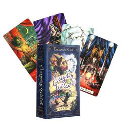 Tarot Everday Witch Cartoons Cards Home Game Party Tarot Cards