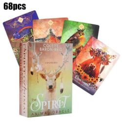 The Spirit Animal Oracle: A 68-Card Deck English Tarot Card Game