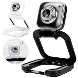 USB Cameras Webcam 480/720/1080P Fits Computers PC Laptops white 480p