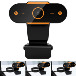 USB Web Camera Video Recording with Microphone PC Laptop Desktop