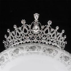 Wedding Bridal Party Crystal Rhinestone Tiara Crown Headband Hot