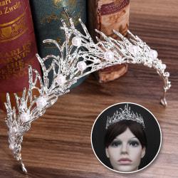 Wedding Rhinestone Tiara Hair Band Bridal Princess Prom Crown