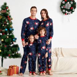 Kvinnor män barn jul pyjamas fest nattkläder familjen outfit kid 90 cm