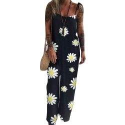 Womens Summer One Piece Jumpsuit Holiday Sling Playsuits Romper Daisy 2XL