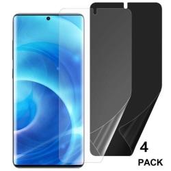 4 st hög kvalitet Nano filmfolie för  Samsung S20 ultra