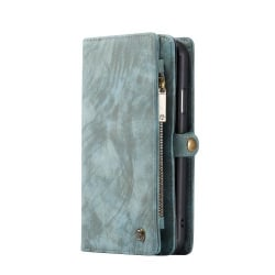 caseMe 008  med 8 kort platser för iphone 11 grön