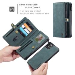 CaseMe 018 för iphone 12mini grön grön
