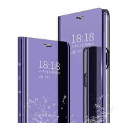 hög kvalitet flip fodral för Samsung A70 lila