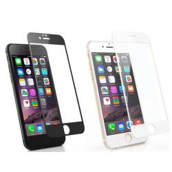 iPhone 6/6S Plus 2.5D 3-PACK Skärmskydd Ram 9H 0,3mm Vit