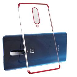 Genomtänkt Silikonskal - OnePlus 7 Pro Silver