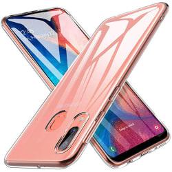 Stilrent Skyddsskal i Silikon Floveme - Samsung Galaxy A20E Transparent/Genomskinlig
