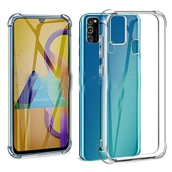 Samsung Galaxy A21S - Stötdämpande Silikonskal FLOVEME Transparent/Genomskinlig