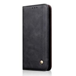 Skyddande Smidigt Plånboksfodral Leman - Samsung Galaxy A40 Svart