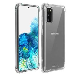 Stilrent Silikonskal - Samsung Galaxy A41 Transparent/Genomskinlig