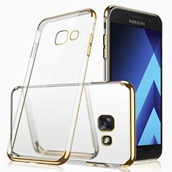 Exklusivt Skyddsskal Silikon (Floveme) - Samsung Galaxy A5 2017 Guld