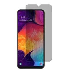 Samsung A70 Anti-Spy Skärmskydd 9H Screen-Fit Svart