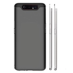 Stilsäkert Skyddsskal i Silikon - Samsung Galaxy A80 Transparent/Genomskinlig