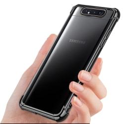 Samsung Galaxy A80 - Genomtänkt Skal Transparent/Genomskinlig