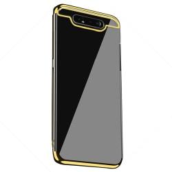 Exklusivt Silikonskal (FLOVEME) - Samsung Galaxy A80 Svart