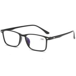 Effektfulla Bekväma Anti-Blue Ljus Läsglasögon (+1.0 - +4.0) Svart 4.0