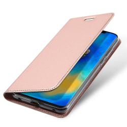 Elegant Fodral med Kortfack - Huawei Mate 20 Pro Marinblå