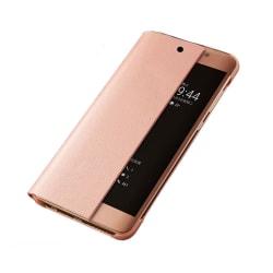 Elegant Fodral med Smart-View till Huawei P20 Pro Roséguld