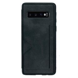 Elegant Smart Skal Kortfack (Hanman) - Samsung Galaxy S10 Plus Svart