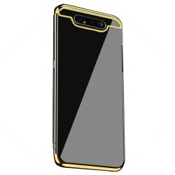 Exklusivt Silikonskal (FLOVEME) - Samsung Galaxy A80 Röd