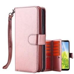 Elegant 9 KORTS Plånboksfodral  för Samsung S7 EDGE - FLOVEME Roséguld