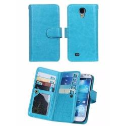 Galaxy S7 Stilsäkert 9 Korts Plånboksfodral (SEDELFACK) FLOVEME Svart