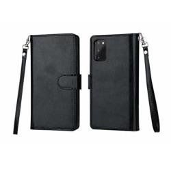 Genomtänkt Plånboksfodral - Samsung Galaxy S20 black