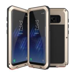 HEAVY DUTY Army Heltäckande Skal - Samsung Galaxy S8 Gul