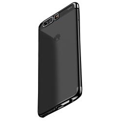 Huawei Honor 9 - Effektfullt Extra Tunt Silikonskal Svart