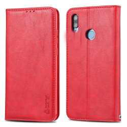 Huawei P Smart 2019 - Robust Plånboksfodral Röd