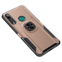 Huawei P Smart Z - Professionellt Skal med Ringhållare Svart