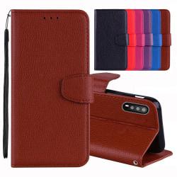 Huawei P20 - Stilrent Plånboksfodral från NKOBEE Lila