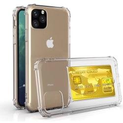 iPhone 11 - Stötdämpande Effektfullt Silikonskal Transparent/Genomskinlig