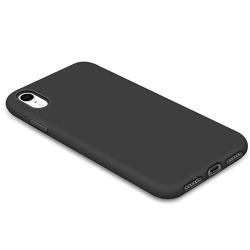 iPhone XR - Genomtänkt Stilrent Skal NILLKIN Svart
