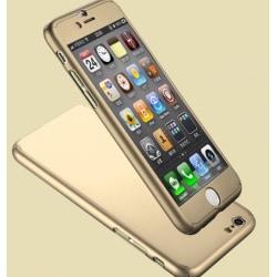 iPhone 6/6S - FLOVEMES Smarta Skyddsskal Guld
