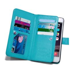 iPhone 6/6S Plus - Stilrent 9-Korts Fodral från LEMAN Svart