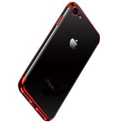 Tunt och Skyddande Skal för iPhone 8 Röd