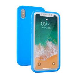 iPhone X/XS - Vattentätt och Smidigt Fodral Rosa