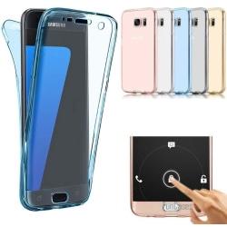 Smart Fodral med Touchfunktion - Samsung Galaxy J7 2017 Blå
