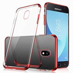Silikonskal - Samsung Galaxy J7 2017 Röd