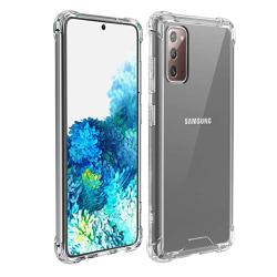 Kraftfullt Skyddsskal - Samsung Galaxy Note 20 Transparent/Genomskinlig Transparent/Genomskinlig